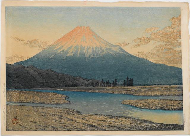 Kawase Hasui (1883-1957) Fujigawa