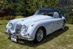 1959 Jaguar XK 150S 3.4 OTS  Chassis no. T820041DN Engine no. VS1999-9