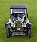 1931 Rolls-Royce Phantom II 'Continental' Touring Saloon  Chassis no. 64GX Engine no. FF75