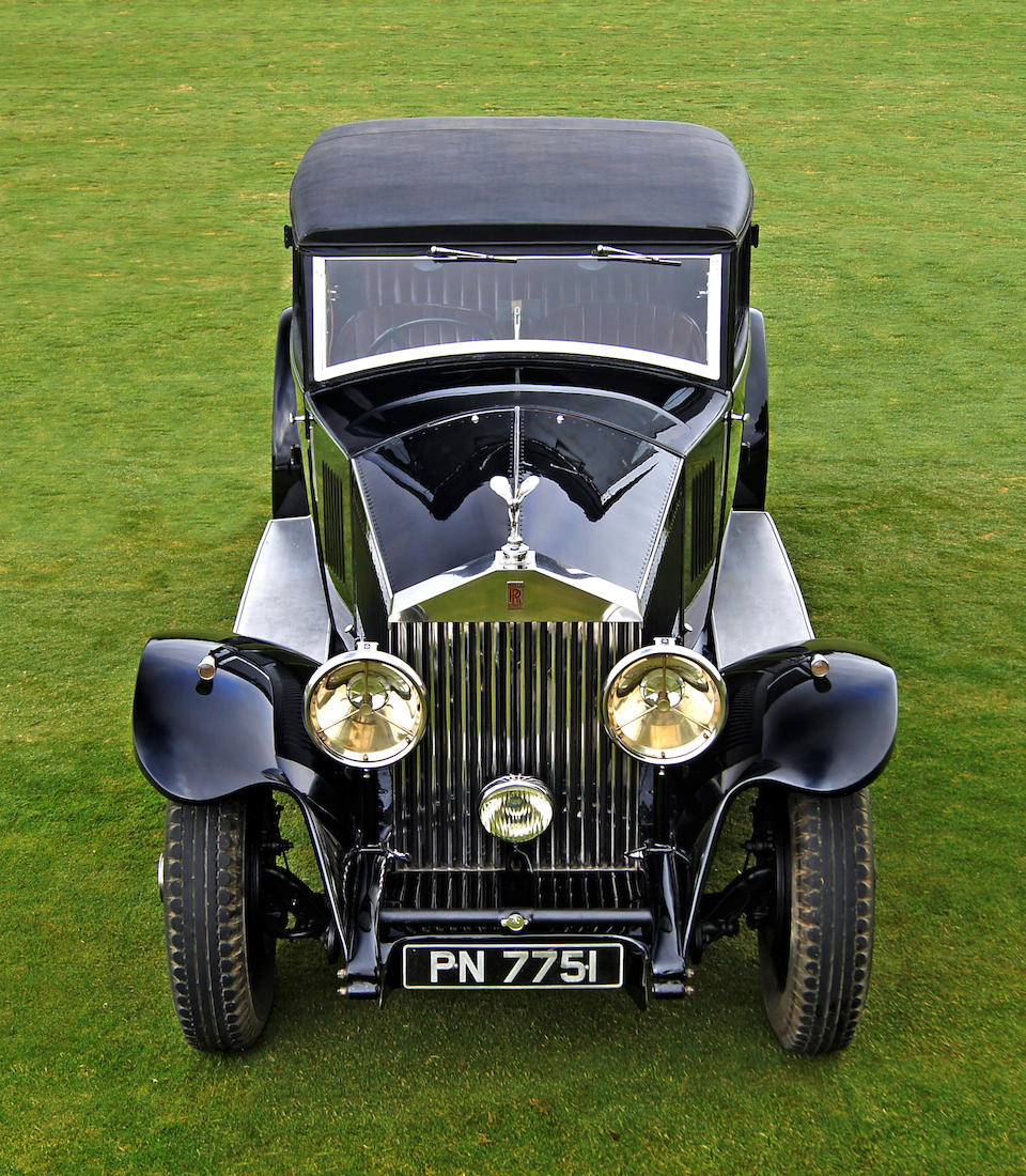 1931 Rolls-Royce Phantom II 'Continental' Touring Saloon  Chassis no. 64GX Engine no. FF75