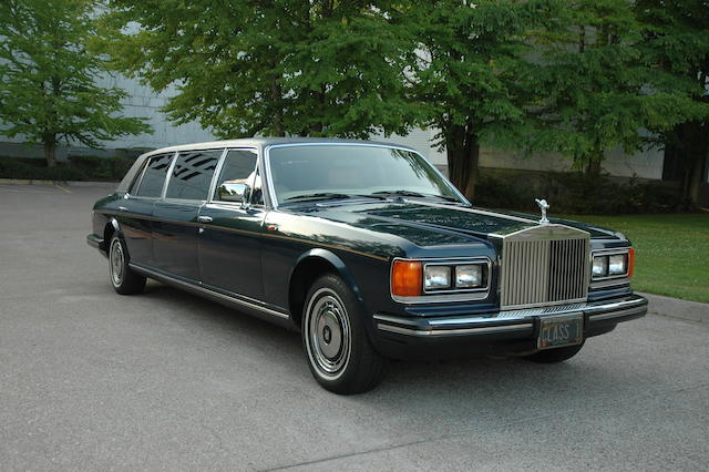 One family ownership from new,1986 Rolls-Royce Silver Spur Limousine  Chassis no. SCAZN42AXGCX14188