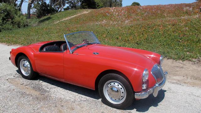 1960 MGA 1600 Roadster  Chassis no. GHNL81501