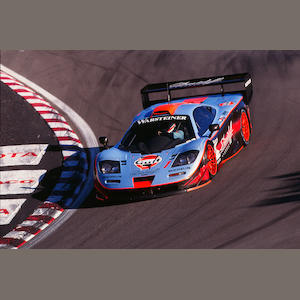 The Ex-GTC Gulf Team Davidoff - the final example produced,1997 McLaren F1 GTR 'Longtail' FIA GT Endurance Racing Coupe  Chassis no. 028R