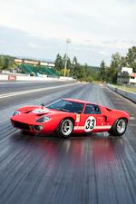 The ex-Filipinetti/ex-Dominique Martin Team ZITRO, Tom Armstrong,1966 Ford GT40  Chassis no. GT40P/1033