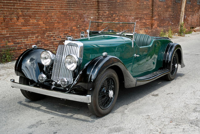 Recently completed concours standard restoration, known history from new,1938 Aston Martin 15/98 Sports Tourer  Chassis no. E8/790/LT Engine no. E8/790/LT