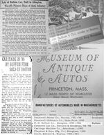 The world's oldest four-cylinder car, the oldest American car ever offered at auction, the oldest American gasoline car in private ownership.<BR /><BR />The first Buffum automobile produced, Buffum family ownership for nearly 40 years, ex- Princeton Auto Museum collection,,1895 Buffum Four-Cylinder Stanhope  Chassis no. 1BUFFUM