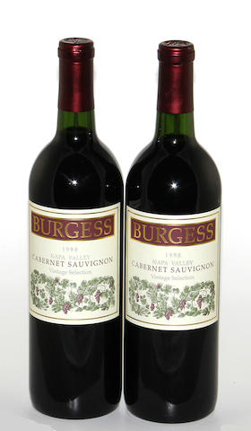 Burgess Cabernet Sauvignon 1998 (12)