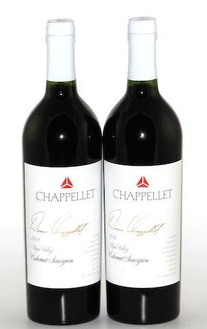 Chappellet Signature Cabernet Sauvignon 1998 (12)