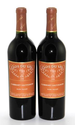 Clos Du Val Cabernet Sauvignon 1998 (12)