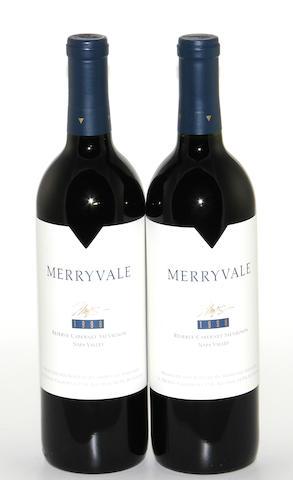 Merryvale Reserve Cabernet Sauvignon 1998 (12)