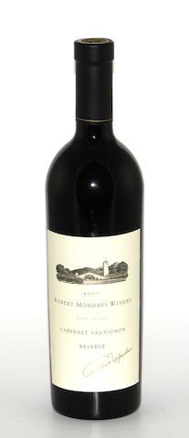 Robert Mondavi Reserve Cabernet Sauvignon 2001 (12)