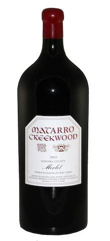 Matarro Creekwood Merlot 1993 (1 Imp)