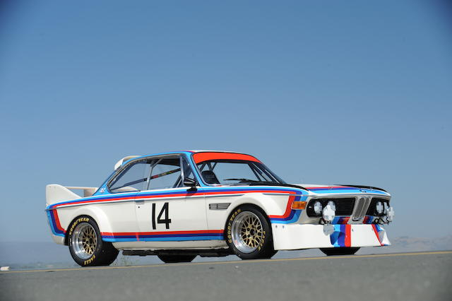 1970 BMW CSL Group 2 Coupe  Chassis no. 2200093