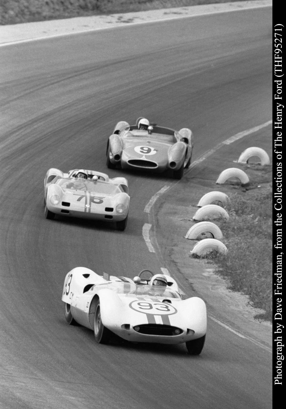 Multiple-time Monterey Historics participant,1964 Huffaker-Genie Mk 10 USRRC Sports-Racer  Chassis no. H120