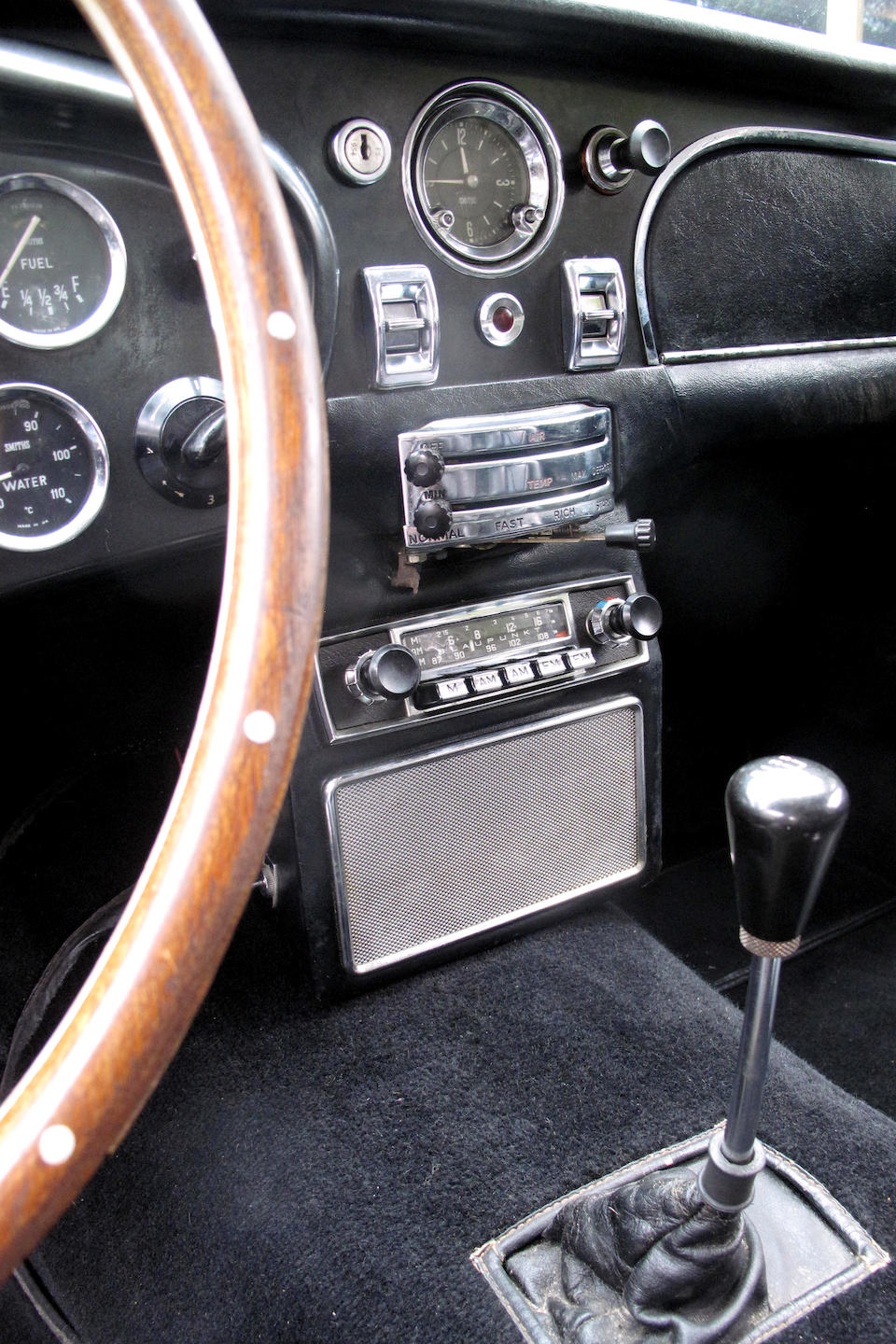 Original left hand drive and factory air-conditioning, timewarp two owner car from new ,1967 Aston Martin DB6 Saloon  Chassis no. DB6/2832/L/N Engine no. 400/2826