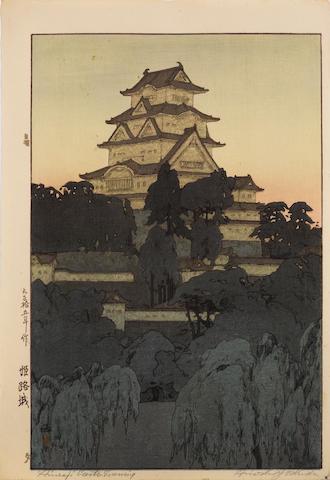 Hiroshi Yoshida (1876-1950) Two woodblock prints