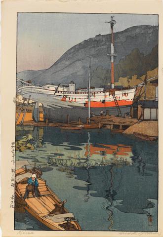 Hiroshi Yoshida (1876-1950) Three woodblock prints