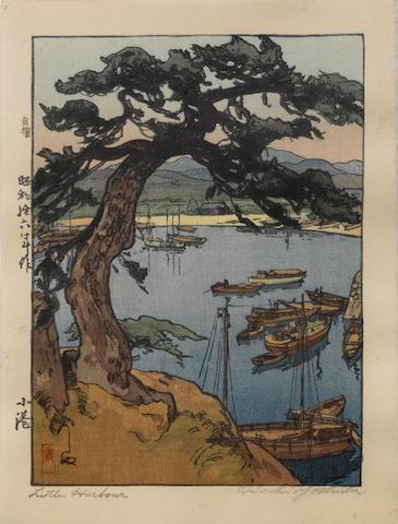 Hiroshi Yoshida (1876-1950)<BR />Four woodblock prints