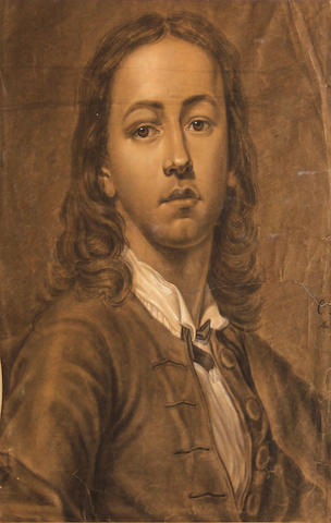 After Anton Raphael Mengs Self portrait 20 1/2 x 16in
