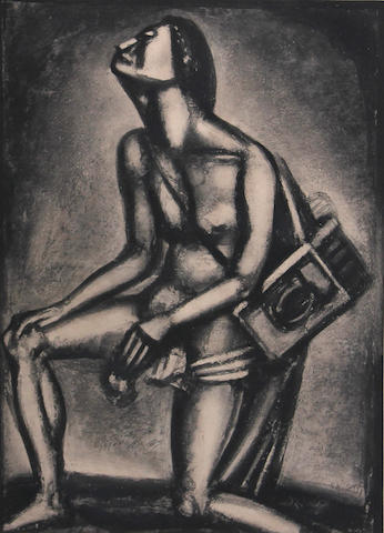 Georges Rouault, from Miserere, (C/R 80), 1926, aquatint;