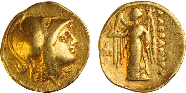 Kings of Macedon, Alexander III, the Great, c.336-323 BC, gold stater