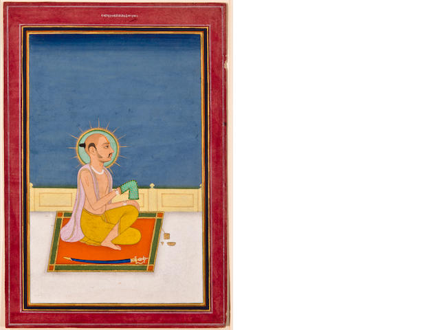 Portrait of a Hindu Holy Man, Jaipur, 19th century