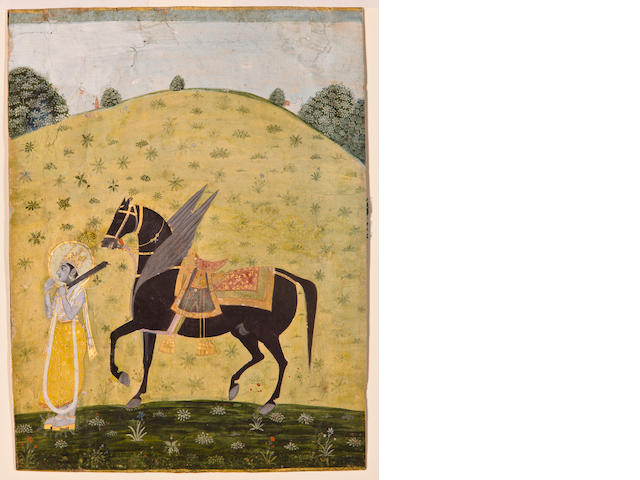 Kalki Avatar, Kishangarh, Late 18th century