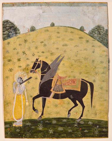 Kalki Avatar, Kishangarh, Late 18th century