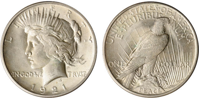 1921 Peace $1