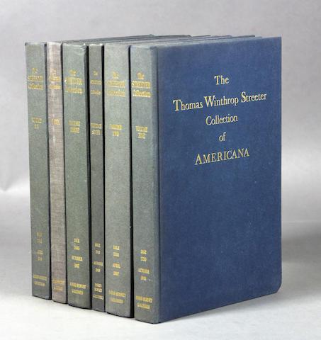 [Americana - Streeter]. 13 vols.