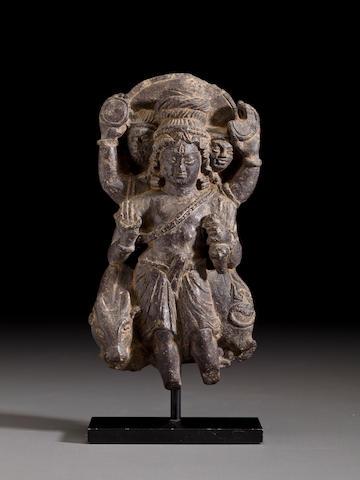 Shiva, Kashmir, 8th century, Stone