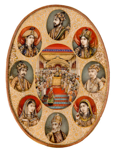 Mughal rulers and their wives