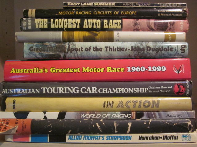 A grouping of Motorsport racing titles,