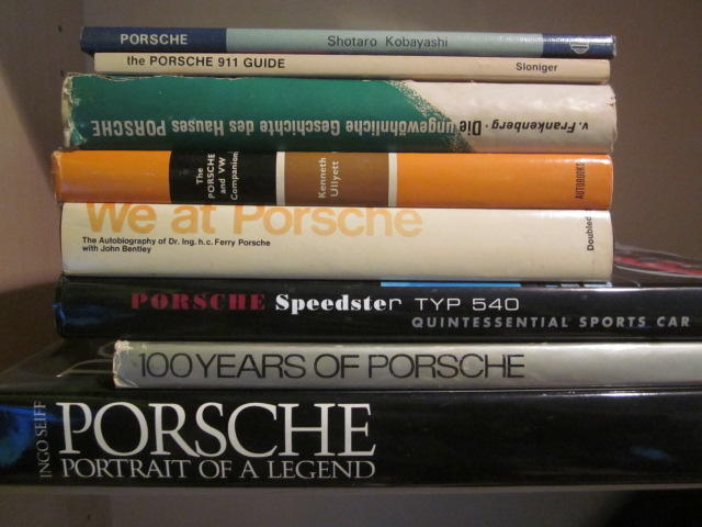 A lot of eight Porsche titles,