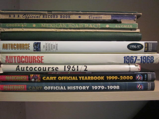 A collection of 'Autocourse' and others,