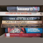A lot of automobile history reference titles,