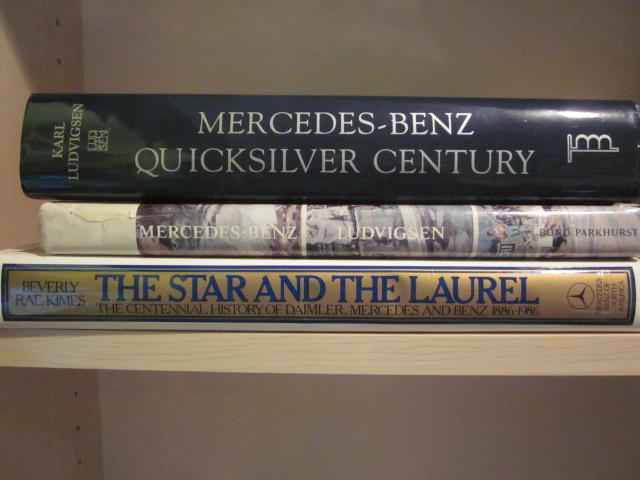 A lot of three Mercedes-Benz titles,