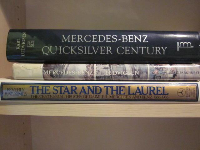 A lot of three Mercedes-Benz titles,