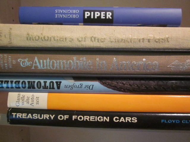A lot of six historic automobile titles,