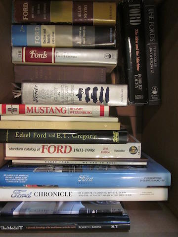 A large grouping of Ford titles,