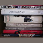 A lot of automobile reference books,