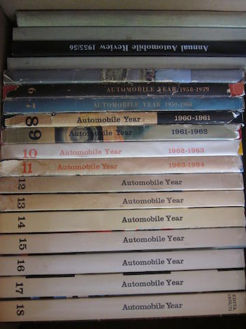 A complete run of 'Automobile Year,'