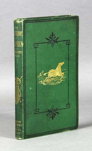 BAINES, THOMAS. The Gold Regions of South Eastern Africa. L: 1877.