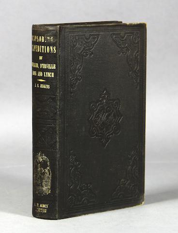 JENKINS, JOHN S. Voyage of the U.S. Exploring Squadron.... Auburn: 1850.