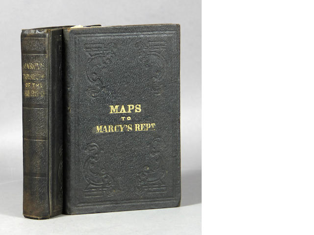 MARCY, RANDOLPH B. Exploration of the Red river of Louisiana.... Wash.: 1854. 2 vols.