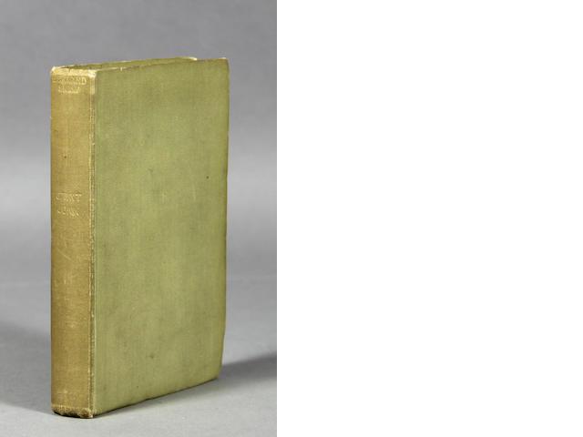 SHAW, GEORGE BERNARD. One volume, inscribed.