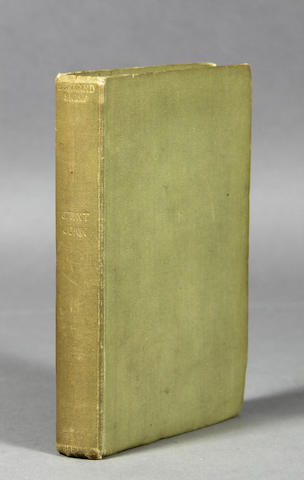 SHAW, GEORGE BERNARD. One volume, inscribed.