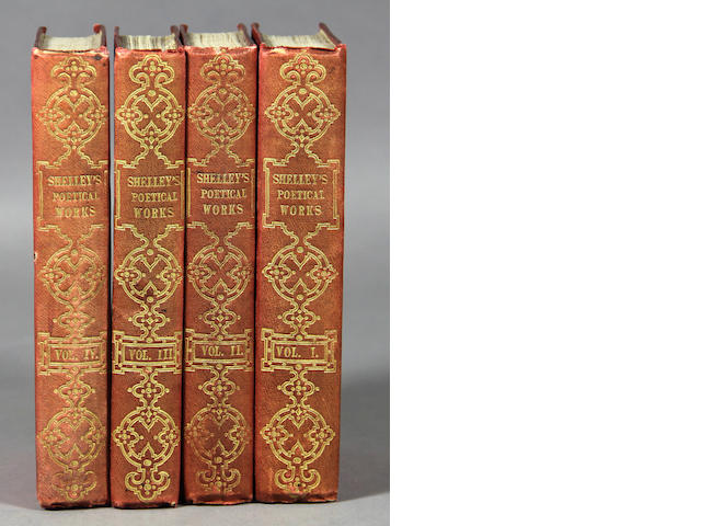SHELLEY, PERCY BYSSHE. 4 vols.