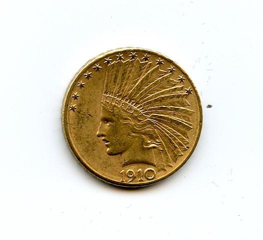 1910-D $10