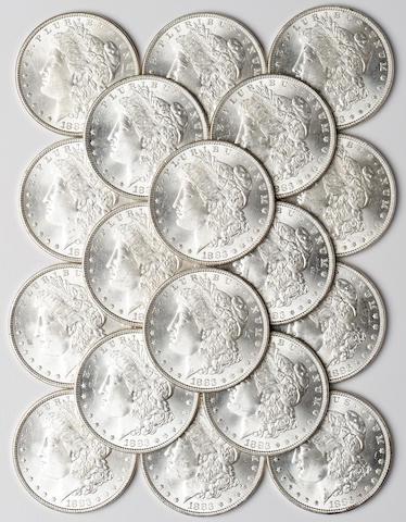 1883 $1 (20)